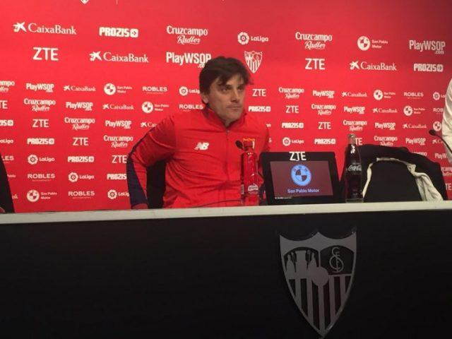 """Montella: """"Tenemos cinco partidos y quiero que todo dependa de nosotros"""""""