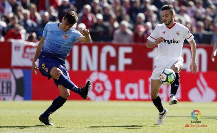 Los números de la victoria del Sevilla ante el Girona