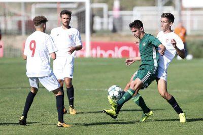 Dos derbis contra el Betis animan la jornada de la cantera sevillista