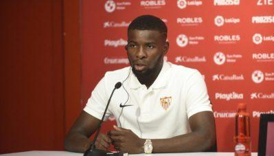"""Amadou: """"En el Sevilla se juega muy bien al fútbol"""""""