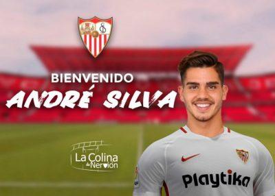 André Silva, nuevo delantero del Sevilla