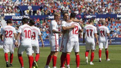 Los datos que confirman que el Sevilla jugó al FIFA frente al Levante