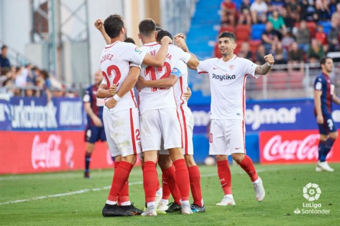Un Sevilla muy eficiente consigue los tres puntos en Ipurua