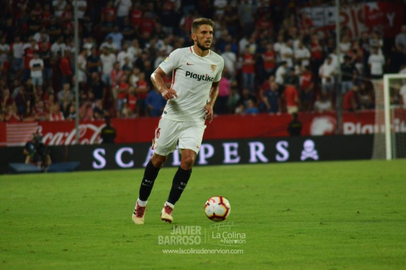 Daniel Carriço como titular con el Sevilla FC en la fase previa de Europa League | La Colina de Nervión