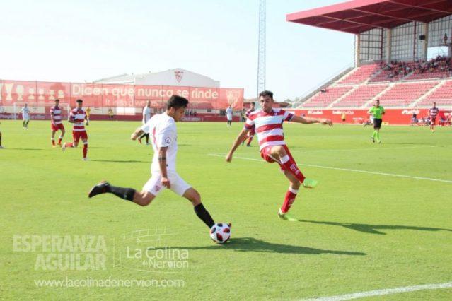 El Sevilla Atlético logra un meritorio empate ante el líder