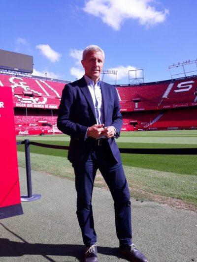 """Pablo Blanco: """"El Sevilla tiene calidad para jugar y carácter para competir"""""""