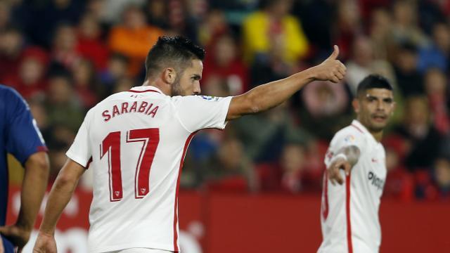 Monchi tiene en Italia dos posibles buenos sustitutos de Sarabia