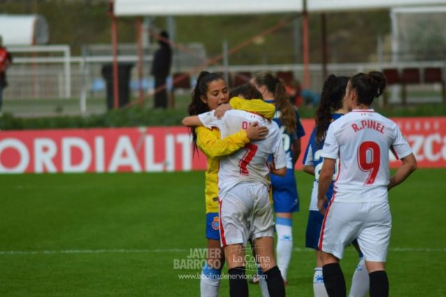Las mejores fotos del Sevilla Femenino – RCD Espanyol