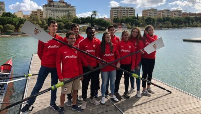 El Sevilla calienta motores para otro derbi sobre el Guadalquivir