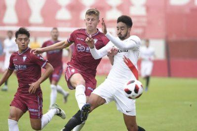 La goleada del Sevilla Atlético al Jumilla, en vídeo