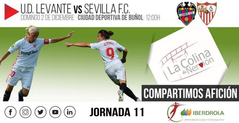 Un Sevilla Femenino debilitado, contra el imparable Levante