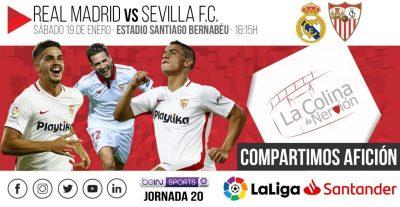 El Sevilla visita a un Real Madrid debilitado