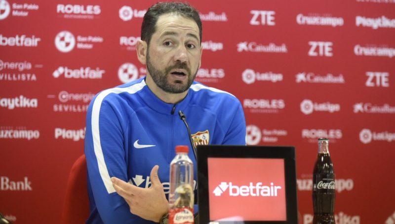 Machín habla sobre los lesionados, el cansancio, cambiar el esquema, el enfado por perder en Vigo y el choque ante el Eibar