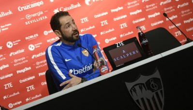 Machín, sobre la relajación ante el Athletic y el papel de Munir