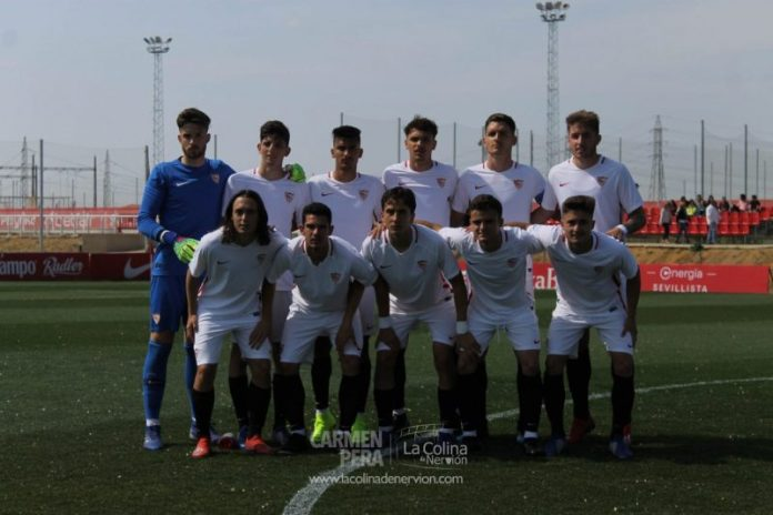 Las mejores fotos del derbi juvenil de División de Honor entre Sevilla y Betis