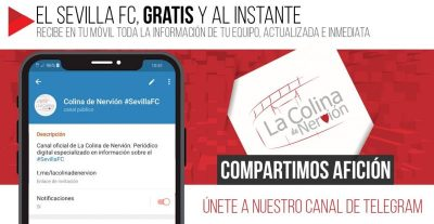Recibe gratis y al instante las noticias del Sevilla Fútbol Club en tu móvil