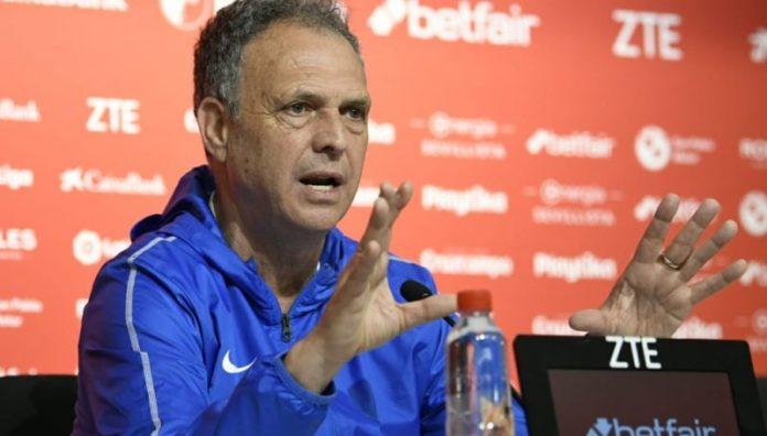 Caparrós recalca la importancia del choque ante el Alavés y habla sobre los lesionados y la presencia de Mudo Vázquez o Amadou en el once