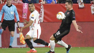 Los llamativos datos que dejó el partido ante el Slavia de Praga