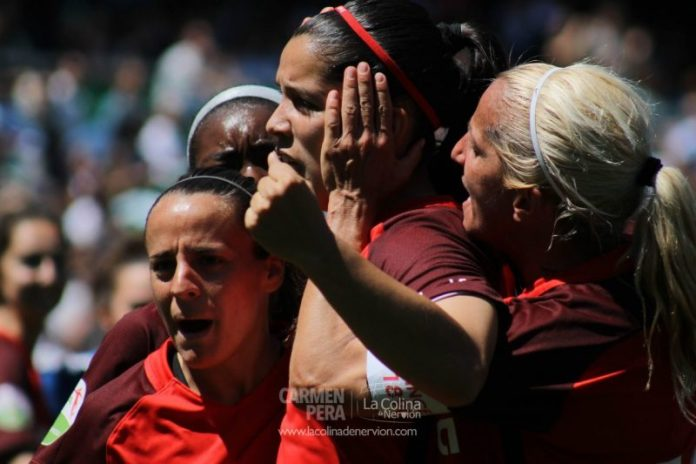 Las mejores fotos del Betis Féminas – Sevilla Femenino