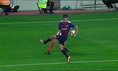 El doble rasero arbitral con el Sevilla