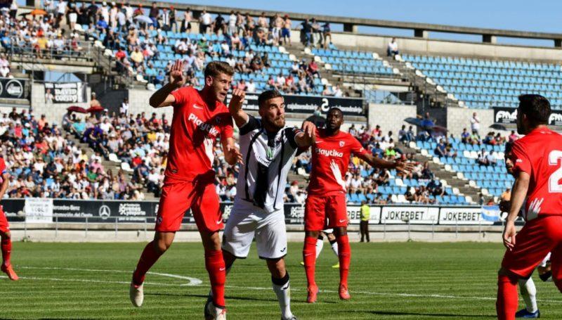 Derrota del Sevilla Atlético en el Nuevo Vivero