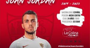 El fichaje de Jordán por el Sevilla ya es oficial