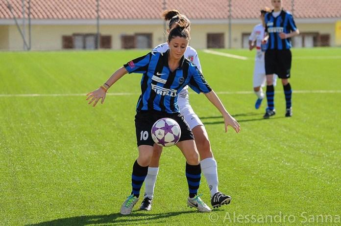 Federica Moroni, cerca del Sevilla FC Femenino