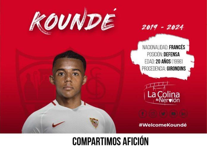 El fichaje de Koundé ya es oficial