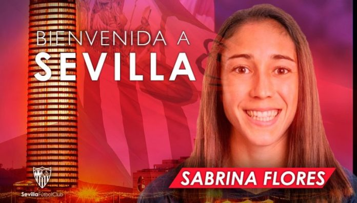Sabrina Flores, otra incorporación del Sevilla FC Femenino