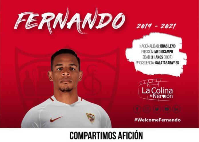 El Sevilla oficializa el fichaje de Fernando