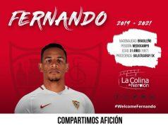 Fernando Reges, nuevo jugador sevillista | Imagen: La Colina de Nervión