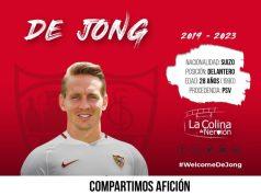 El fichaje de Luuk De Jong por el Sevilla ya es oficial