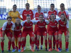 Once del Sevilla Femenino en la I Copa Colombina | Imagen: La Colina de Nervión - Javi Barroso