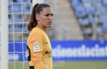Sara Serrat, durante la Copa Colombina   Imagen: La Colina de Nervión - Javier Barroso