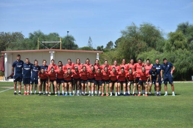 El Sevilla Femenino ya se encuentra en su concentración portuguesa   Imagen: Sevilla FC