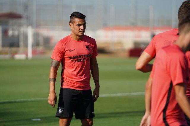 Rony Lopes, durante su primer entrenamiento con el Sevilla   Imagen: Sevilla FC