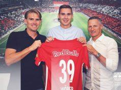 Wöber, presentado con el RB Salzburgo   Imagen: RB Salzburgo