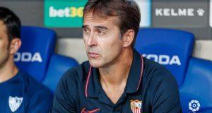 Lopetegui en el partido frente al RCD Espanyol.