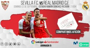 Sevilla - Real Madrid. Jornada 5