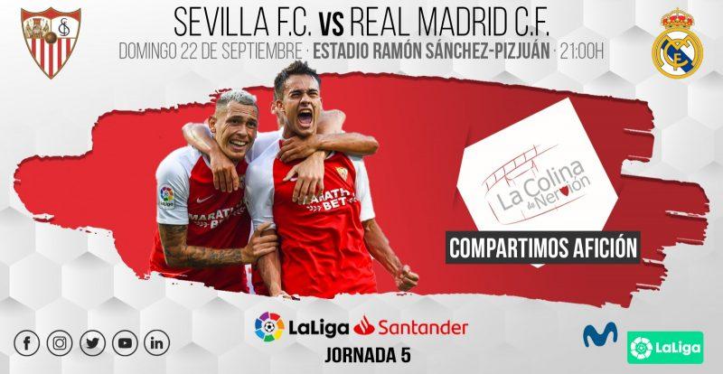Sevilla - Real Madrid. Jornada 5