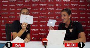 Isa Echeverri y Aldana Cometti se vuelven a verse las caras | Imagen: La Colina de Nervión