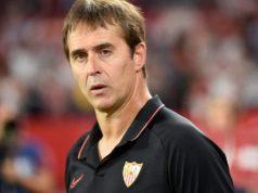 Lopetegui, atento en el choque ante el Real Madrid | Imagen: Sevilla FC
