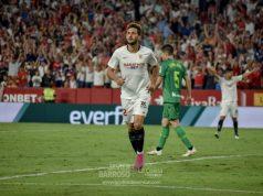 El Mudo Vázquez celebra un gol || Imagen: Javier Barroso de La Colina De Nervión