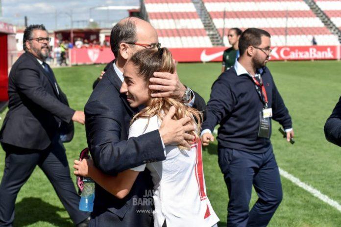 Las mejores fotos de la goleada del Sevilla Femenino al Espanyol