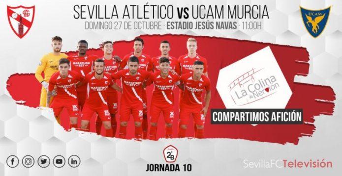 El Sevilla Atlético busca redimirse ante el UCAM Murcia