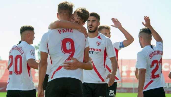 Un Sevilla Atlético arrollador vapulea al UCAM
