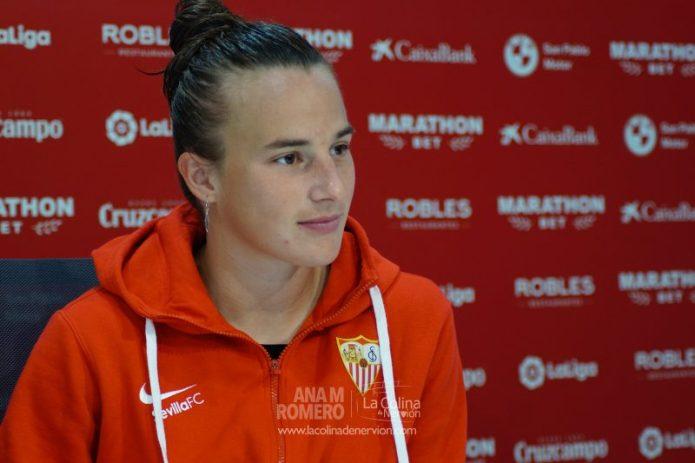 Pinel: «Las nuevas incorporaciones han mejorado todas las líneas del Sevilla FC Femenino»
