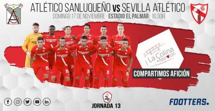 El Atlético Sanluqueño, duro rival para el Sevilla Atlético