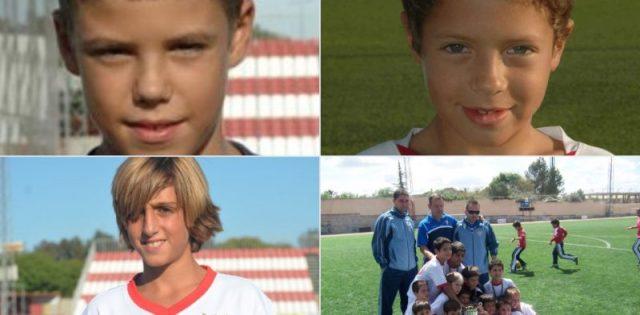 Alejandro Pozo, Bryan Gil y Pepe Mena, de niños | Imagen: Twitter