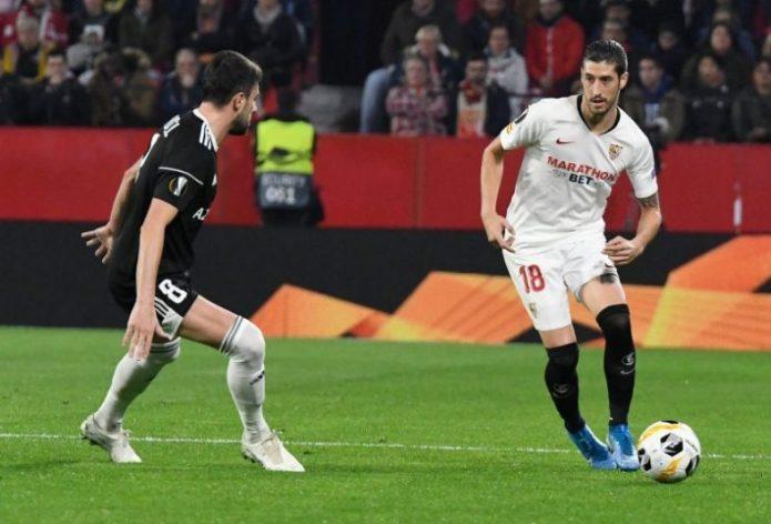 Un flojo Sevilla logra la victoria en el trámite ante el Qarabag